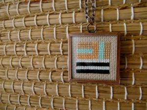 Cross-stitch Necklace
