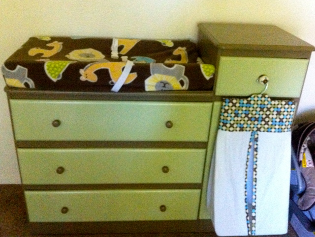 DYI Changing Table